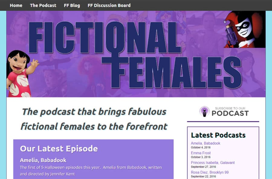 Fictional Females 900x592 - Welcome to CreativeAK