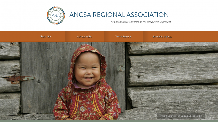 Image of ANCSA Regional Association Homepage